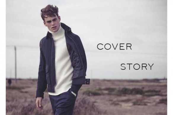Reiss A/W14 'Cover Story' Menswear Lookbook. menswear mensfashion outerwear coats jackets leather peacoat biker jacket autumn winter